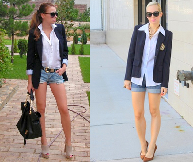 denim-shorts-with-white-shirt-and-blazer